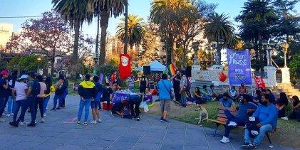 """""""Las pibas y pibes en Jujuy peleamos nuestro futuro junto a la izquierda"""""""